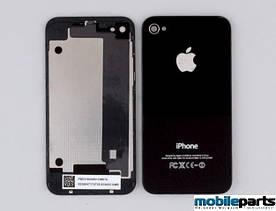 Задняя крышка для iPhone 4, 4G Оригинал (Черная)
