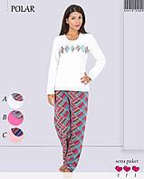 Пижама женская флис Vienetta Secret 4041272902
