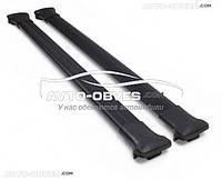 Поперечины на рейлинги черные для Toyota LC200