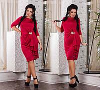 """Элегантное вечернее женское платье в больших размерах  """"Каскад"""""""