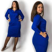 Платье трикотажное в расцветках 13031, фото 1
