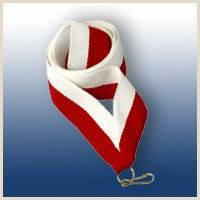 Лента бело-красная