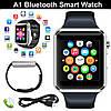 Часы Smart watch A1 для iOS/Android Silver (смарт часы)