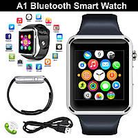 Часы Smart watch A1 для iOS/Android Silver (смарт часы), фото 1