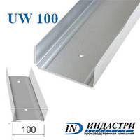 Профил для гипсокартона UW 100 0,45 мм