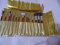 Набор кистей для макияжа 15 кистей QPI PROFESSIONAL СВ0147