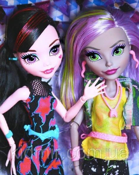 Набір ляльок Monster High Дракулаура і Моаника Draculaura Moanica D kay Ласкаво просимо у Школу Монстрів