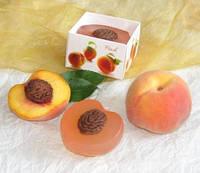 """""""Персик"""" натуральное подарочное мыло ручной работы"""