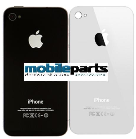 Задняя крышка для Apple iPhone 4S оригинал (Черная)