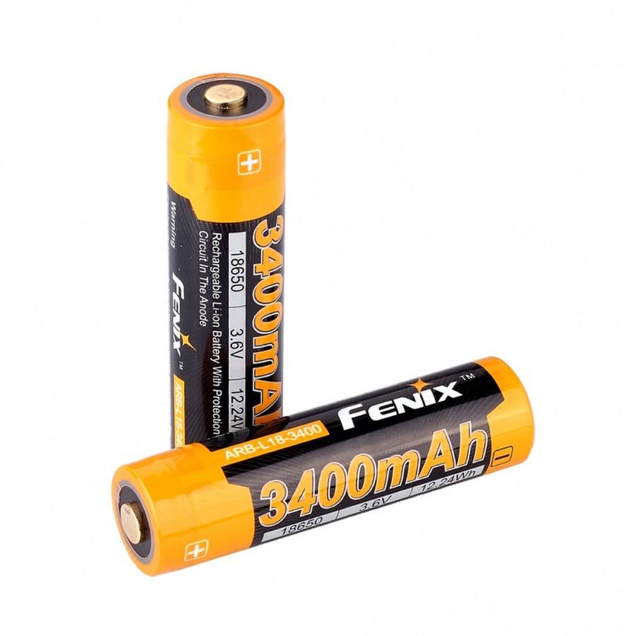 Аккумулятор 18650 FENIX ARB-L18 (3400 MAH)