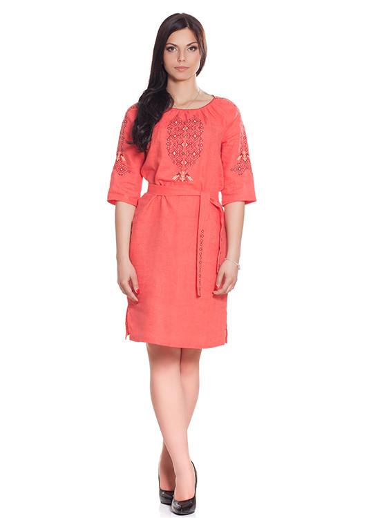 d495bcc706f6b55 Яркое платье-вышиванка. 100% лен: продажа, цена в Киеве. этническая ...