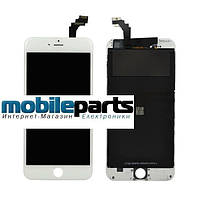 Дисплей (Модуль) + Сенсор (Тачскрин) для Apple Iphone 6 (Оригинал Китай, Tianma) (Белый)