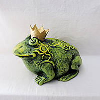 """Скульптура """"Жаба"""" з короною №2 ОРА АГРО-ЕКО, фото 1"""