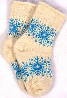 Носки из козьего пуха женские