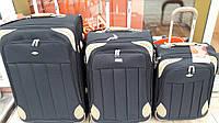 """Комплект чемоданов бизнес класса фирмы """"CCS""""  3в1 на 2-х колесах, Одесса"""