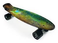 """Пенни Борд """"Космос"""" 22″ Черные Колеса / пенниборд скейт (penny board), скейтборд"""