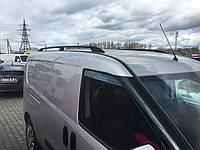 Fiat Doblo Nuovo Maxi Рейлинги Черные с пластиковыми концевиками