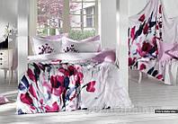Комплект постельного белья SoundSleep Flora Della Vita сатин Полуторный комплект -2 наволочки: 50х70, 70х70 см