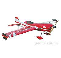 Самолёт радиоуправляемый Precision Aerobatics XR-61 1550мм KIT (красный)
