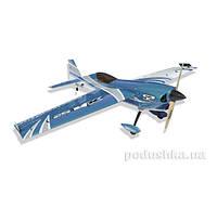 Самолёт радиоуправляемый Precision Aerobatics XR-52 1321мм KIT (синий)