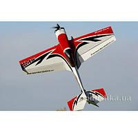 Самолёт радиоуправляемый Precision Aerobatics Katana MX 1448мм KIT (красный)