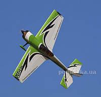 Самолёт радиоуправляемый Precision Aerobatics Katana MX 1448мм KIT (зеленый)
