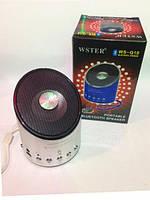 Портативная Bluetooth колонка WS-Q10, портатиная акустика, аудиотехника, электроника, стильные