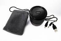 Беспроводная колонка WS-A99,  в виде объектива фотоаппарата, блютуз, mp3 колонка, портативная аустика, аудиоте