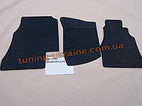 Коврики в салон резиновые Politera 3шт. для Mercedes Sprinter W901/W905 1995-2006
