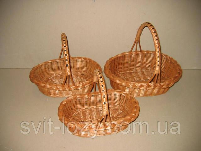 Плетені кошики