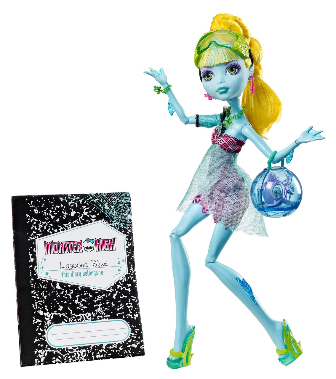 Кукла Монтер Хай  Лагуна Блю серия 13 желаний Monster High 13 Wishes Lagoona Blue, Киев