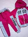 Спортивный костюм Adidas на девочек размер 92, фото 2