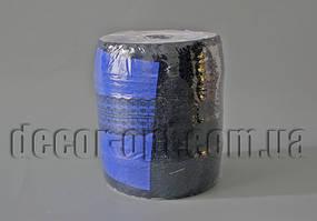 Тесьма кружевная двойная сине-черная 4,5см/300ярд