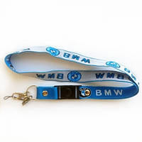 Подвес для ключей BMW (эластичный, L-50см, синий)