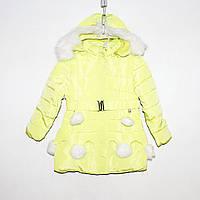 Куртка болоньевая на силиконе для девочки Арт.1178-1 Разм.92-116