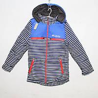 Куртка болоньевая на силиконе для мальчика Арт.004 Разм.152-164