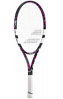 Детская теннисная ракетка Babolat Pure drive Jr 23 black/pink 2015 (140161/178)