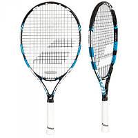 Детская теннисная ракетка Babolat Pure drive Jr 23 black/blue 2015 (140161/146)