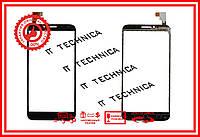 Тачскрин Alcatel One Touch Idol 2 6037Y Черный ОРИ