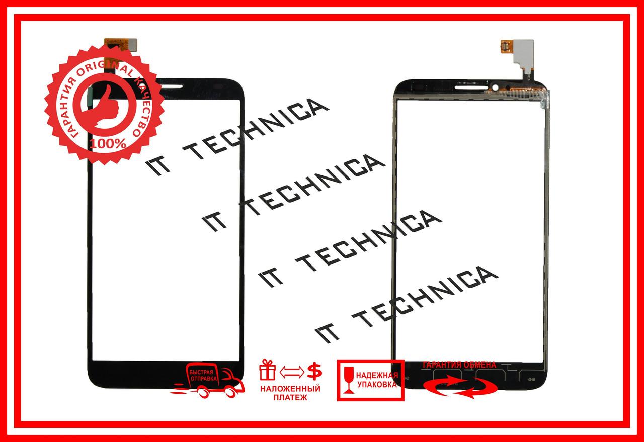 Тачскрин Alcatel One Touch Idol 2 6037K Черный ОРИ