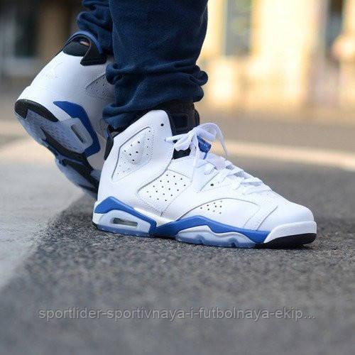 97ec751fb88fd Детские кроссовки Nike Air Jordan 6 Retro BG 384665-107 JR
