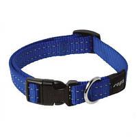Ошейник для собак утилитарность, голубой, ROGZ M, 26-40 см