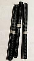 Карбоновая пленка черная 3D. Пленка под карбон для автомобиля 127*30 см