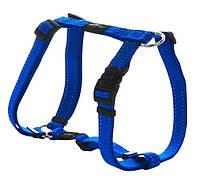 Шлея для собак утилитарность, голубой, ROGZ S, 20-37 см