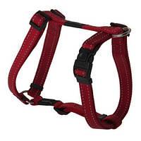 Шлея для собак утилитарность, красный, ROGZ S, 20-37 см