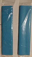 Пленка под карбон голубая. Карбоновая пленка 3D 127*30 см