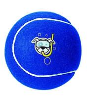 Игрушка для собак теннисный мяч молекула 6.5, синий, ROGZ 1 штука