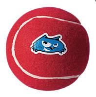 Игрушка для собак теннисный мяч молекула 6.5, красный, ROGZ 1 штука