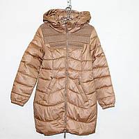 Куртка болоньевая на силиконе для девочки Арт.1136 Разм.158-162