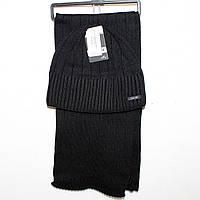 Шапка +шарфик для мужчин Арт. 7075
